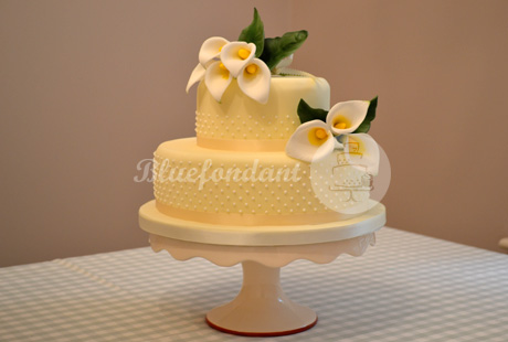 lily cake